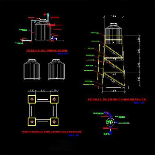 سیستم آبرسانی پروژه