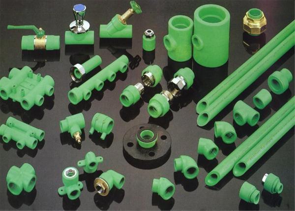 لوله های سبز پلی پروپیلن