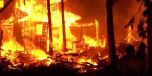 مهار دود هنگام آتش سوزی