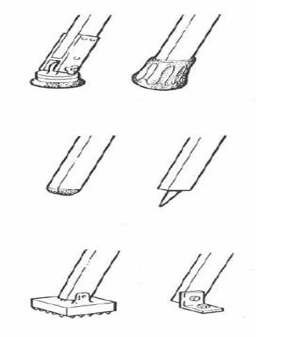 نحوه جلوگیری از سر خوردن پایه های نردبان