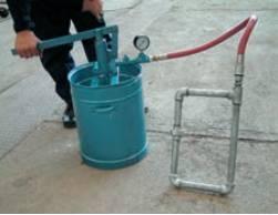 روش آزمایش لوله کشی سیستم حرارت مرکزی